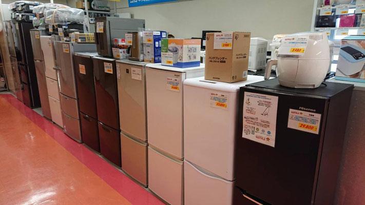 リサイクル冷蔵庫