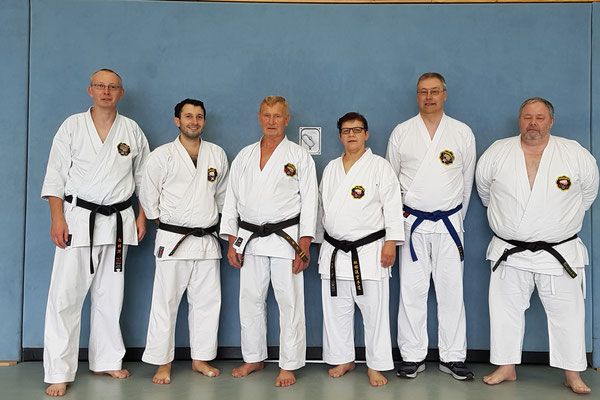 Teilnehmer vom Sonntag am Seminar