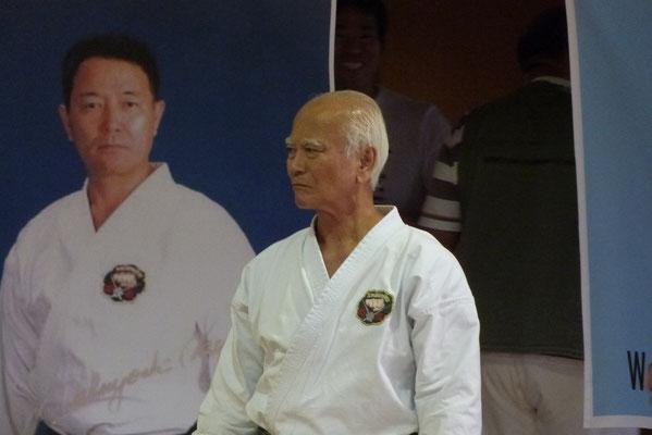 Arakaki Sensei, 10. Dan Matsubayashi Ryu