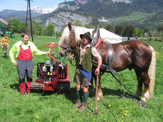 Felix, Aaron und das eiserne Pferd