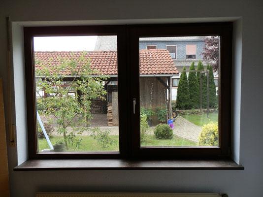Bestehendes Fenster Innenansicht