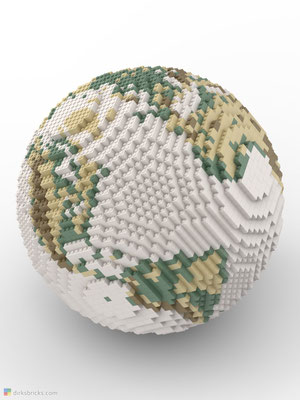 Dirks LEGO® Globe Antique sphere