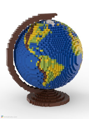 Dirks LEGO® Globe Original