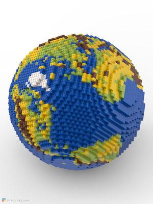 Dirks LEGO® Globe Original sphere
