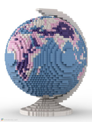 Dirks LEGO® Globe Friendly Feeling front view