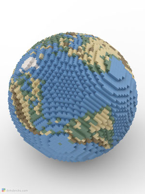 Dirks LEGO® Globe Smooth sphere