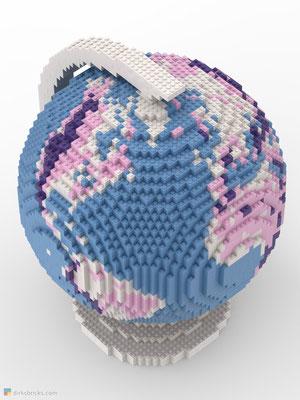 Dirks LEGO® Globe Friendly Feeling from above