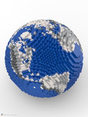 Dirks LEGO® Globe Metallic sphere