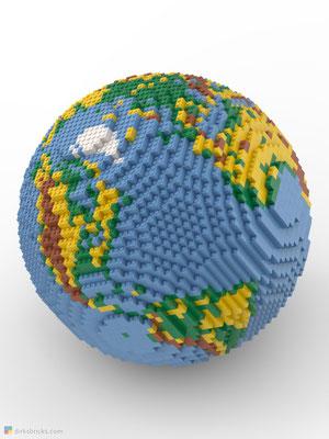 Dirks LEGO® Globe Premium sphere