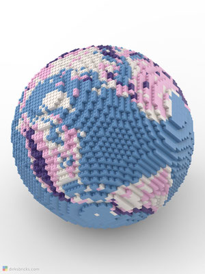 Dirks LEGO® Globe Friendly Feeling sphere