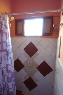 Bathroom of room 2  in apartment on second floor