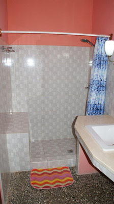Bathroom of room 1  in apartment on second floor