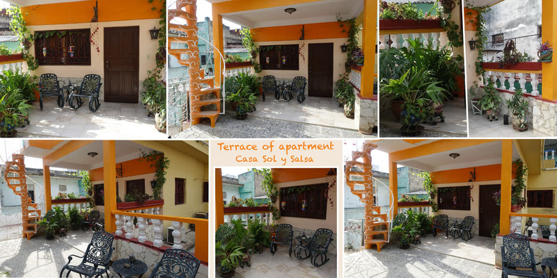 Terrace of apartment on second floor