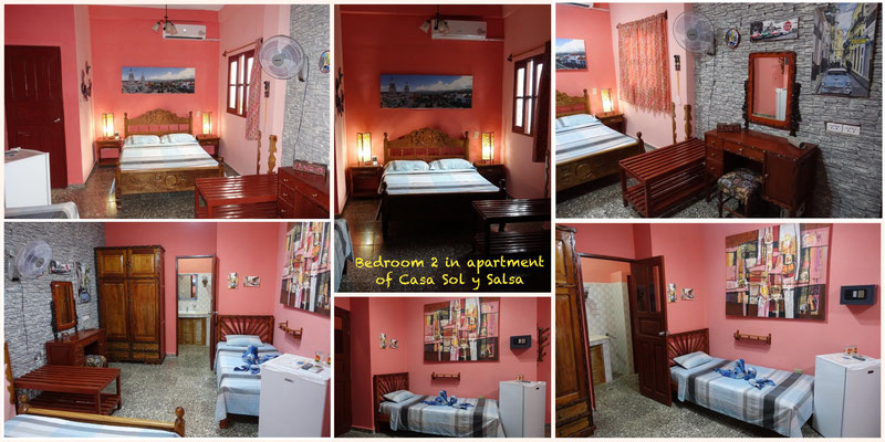 Bedroom 2 in apartment on second floor