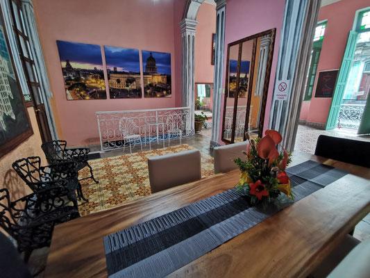 Dining room of 'Casa Sol y Salsa'