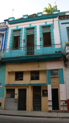 Facade of 'Casa Sol y Salsa'