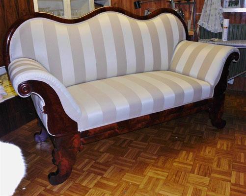 Biedermeier-Sofa, Ergebnis