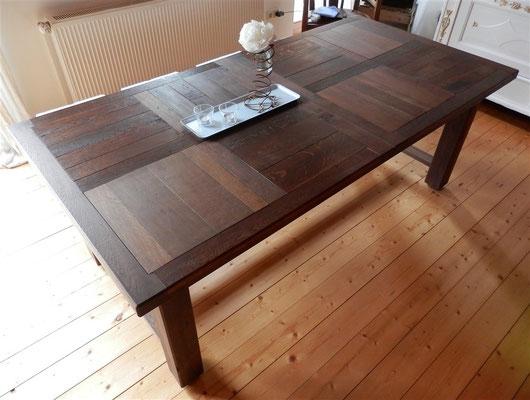 Esszimmer-Tisch Ergebnis, von oben