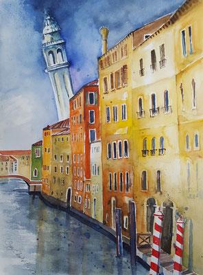 Venedig 2017 Aquarell 36 x 48 cm