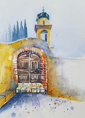 Limone Sul Garda 2018 Aquarell 24 x 32 cm