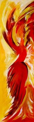 Tänzerin Acryl auf Leinwand