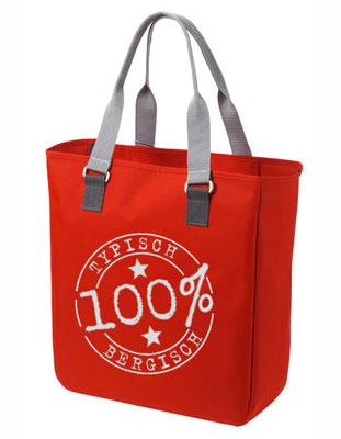 "Shopper ""Typisch Bergisch"" Rot"