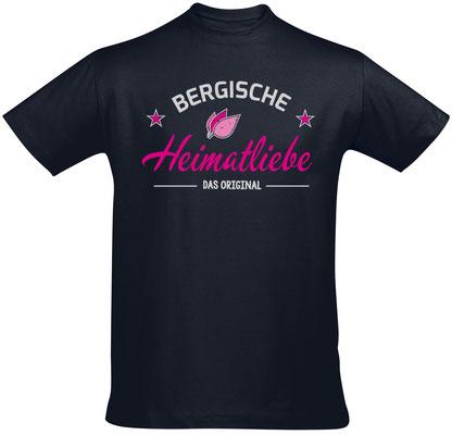 T-Shirt Bergische Heimatliebe Navy