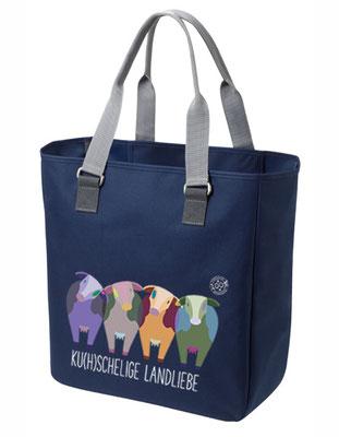 "Shopper ""Ku(h)schelige Landliebe"" Blau"
