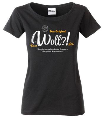 T-Shirt Woll?! Schwarz