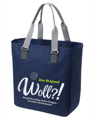 "Shopper ""Woll?!"" Navy"