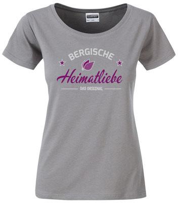 T-Shirt Bergische Heimatliebe Steel Grey