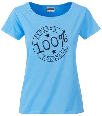T-Shirt Typisch Bergisch Sky Blue
