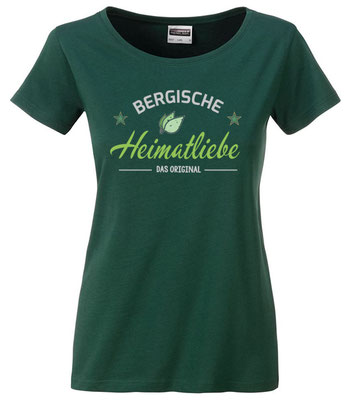 T-Shirt Bergische Heimatliebe Dark Green