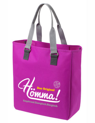 "Shopper ""Hömma!"" Fuchsia"