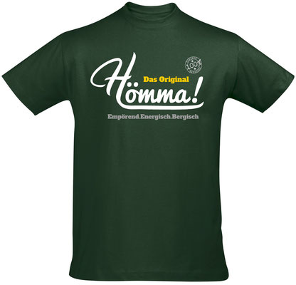 T-Shirt Hömma! Bottle Green