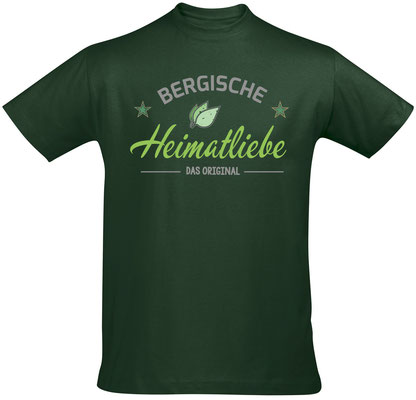 T-Shirt Bergische Heimatliebe Bottle Green