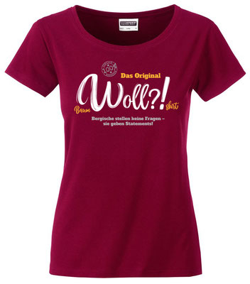 T-Shirt Woll?! Wine