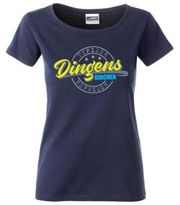 """Damen T-Shirt """"Dingenskirchen"""" Navy (DK03)"""