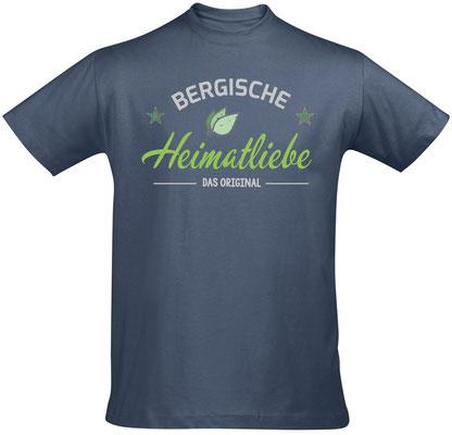 T-Shirt Bergische Heimatliebe Denim