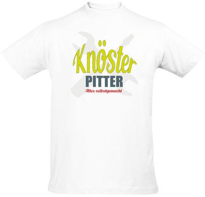 T-Shirt Knösterpitter Weiß