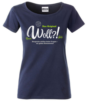 T-Shirt Woll?! Navy