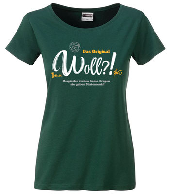 T-Shirt Woll?! Dark Green