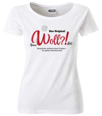T-Shirt Woll?! Weiß