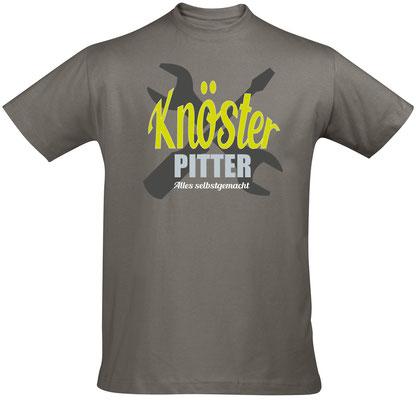 """Herren-/Unisex-Sirt """"Knösterpitter"""" Zinc (KP02)"""