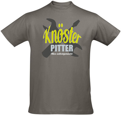 T-Shirt Knösterpitter Zinc