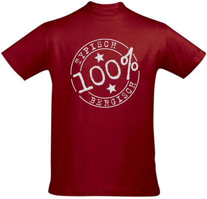 T-Shirt Typisch Bergisch Tango Red