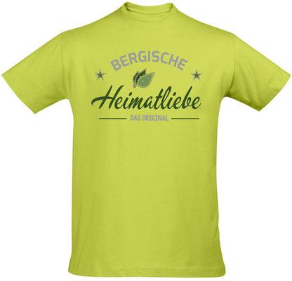 T-Shirt Bergische Heimatliebe Apple Green