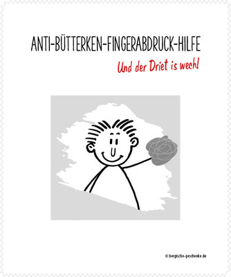 Brillenputztuch – Anti-Bütterken-Fingerabdruck-Hilfe