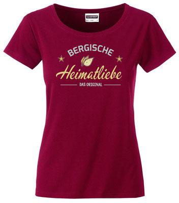 T-Shirt Bergische Heimatliebe Wine
