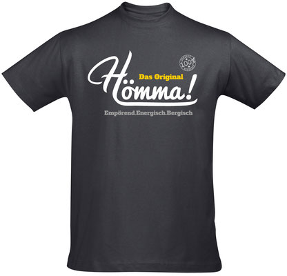 T-Shirt Hömma! Mouse Grey